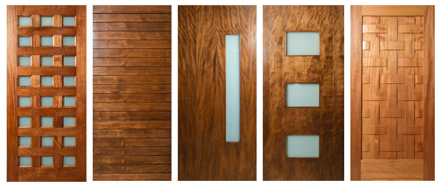 The Different Types of Wood for Doors